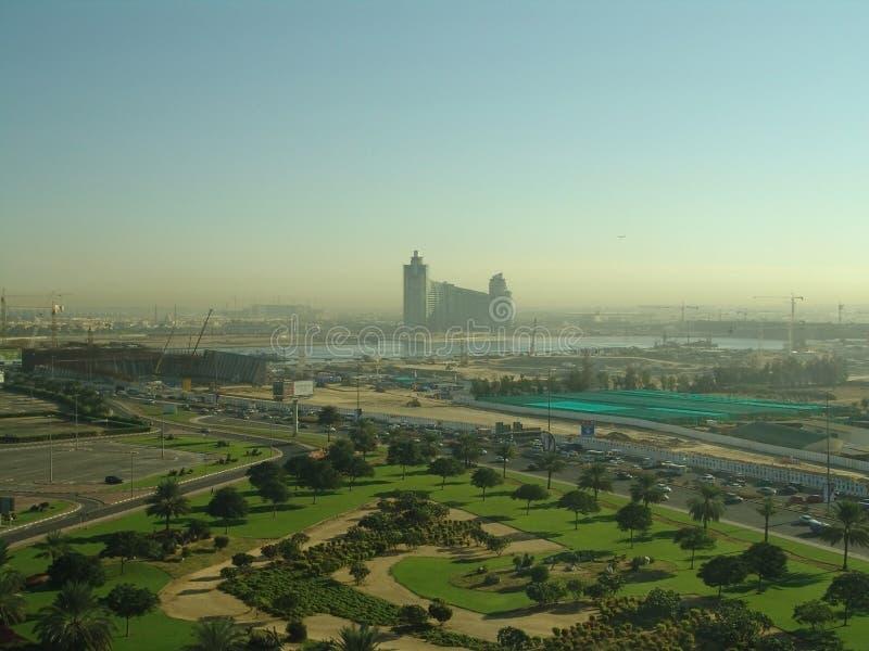 La mañana está en Dubai imágenes de archivo libres de regalías