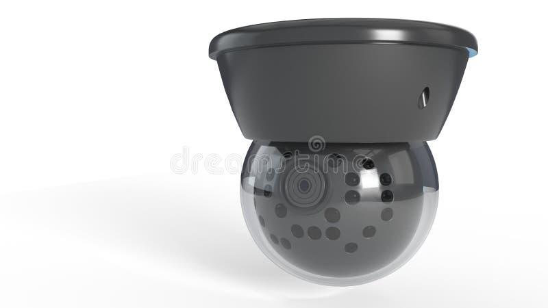 La macchina fotografica di Wifi Securty di fondo, 3d rende royalty illustrazione gratis
