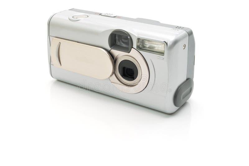 Download La Macchina Fotografica Digitale Argentea Fotografia Stock - Immagine di obiettivo, digitale: 7301352