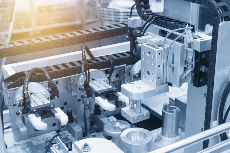 La macchina pneumatica di produzione immagini stock