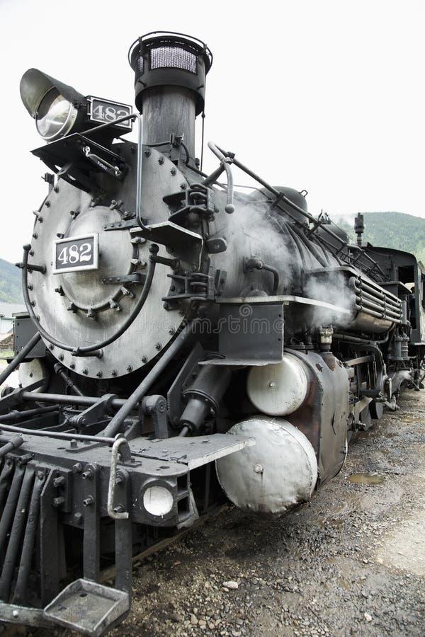 La machine à vapeur, Durango et la mesure étroite de Silverton Railroad, Silverton, le Colorado, Etats-Unis photo libre de droits