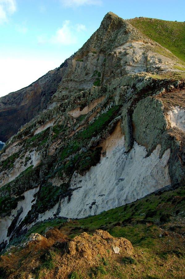 La Madère : La côte de l'île Porto de vacances font Santo photographie stock libre de droits