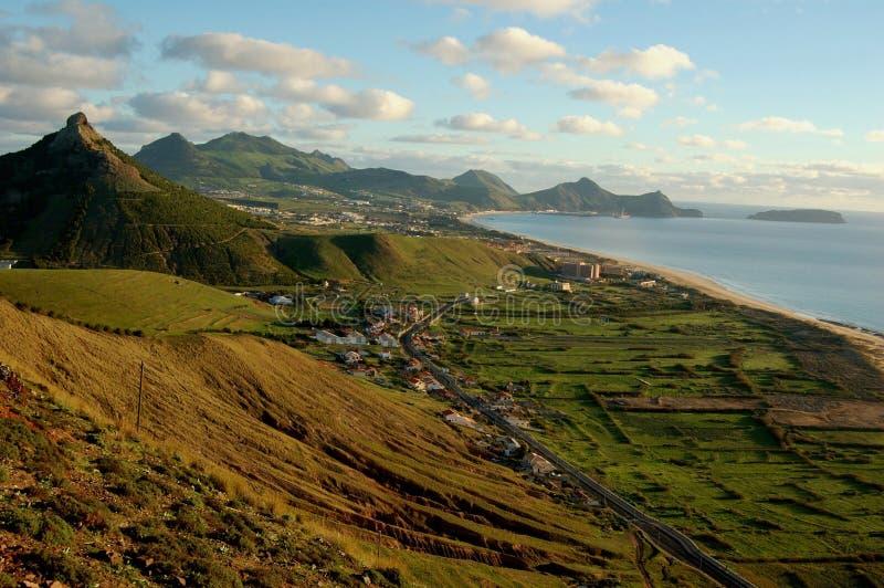 La Madère : La côte de l'île Porto de vacances font Santo photos libres de droits