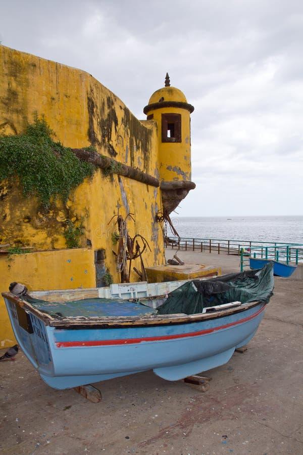 La Madère, Funchal, Forte de Sao Tiago photos stock