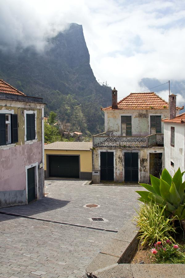 La Madère, vallée des nonnes, Curral DAS Freiras photos libres de droits