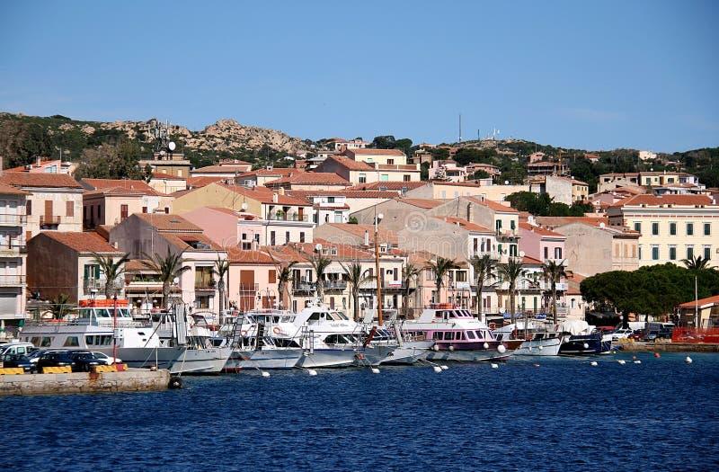 La-Maddalena-Hafen La Maddalena Archipelago (Sardinien) lizenzfreies stockfoto