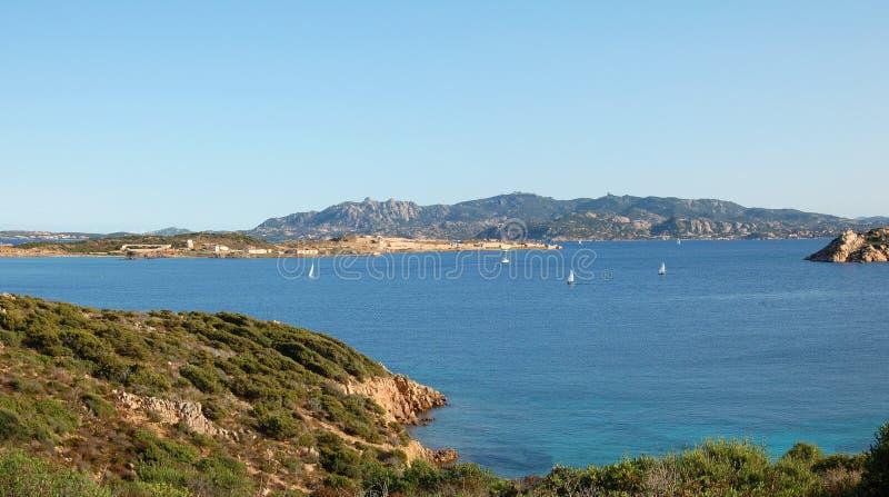 La Maddalena Park royalty-vrije stock afbeelding