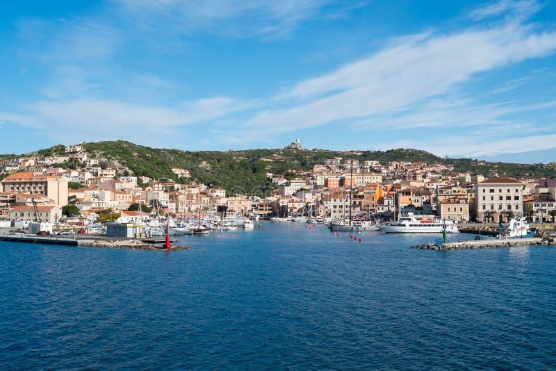 La Maddalena, Sardinige, Italië royalty-vrije stock fotografie