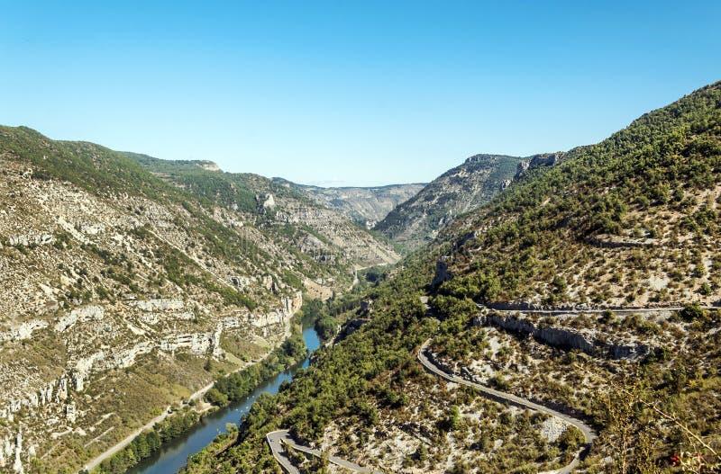 La Madele河  库存照片
