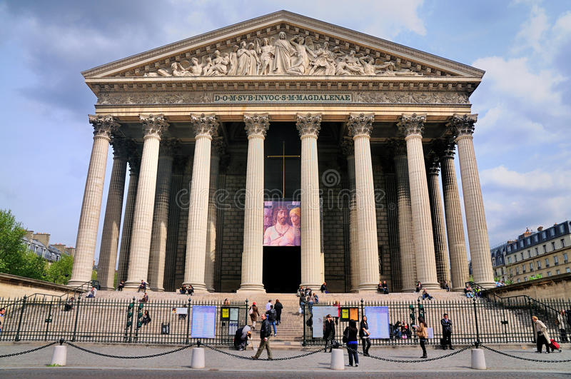 Download La Madeleine, Church In Paris, France. Editorial Stock Photo - Image: 20742603