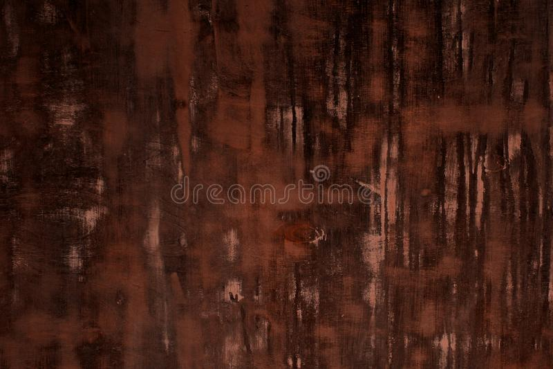 La madera dura roja del grunge con los puntos rasguñados grandes texturiza - el fondo abstracto hermoso de la foto imagenes de archivo