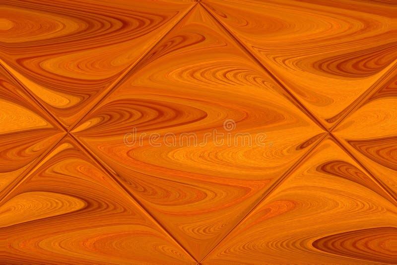 La madera raspada fresca se refleja en una teja de cristal foto de archivo