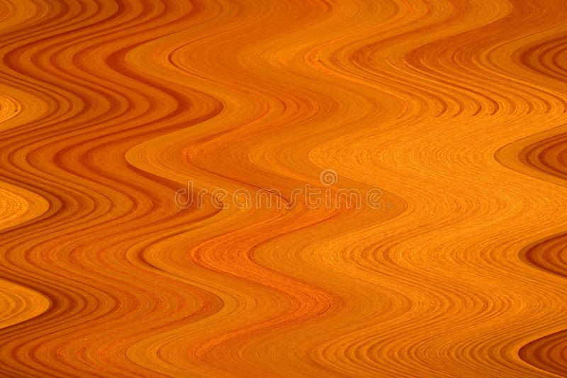 La madera recientemente raspada es curvada por las ondas fotos de archivo libres de regalías