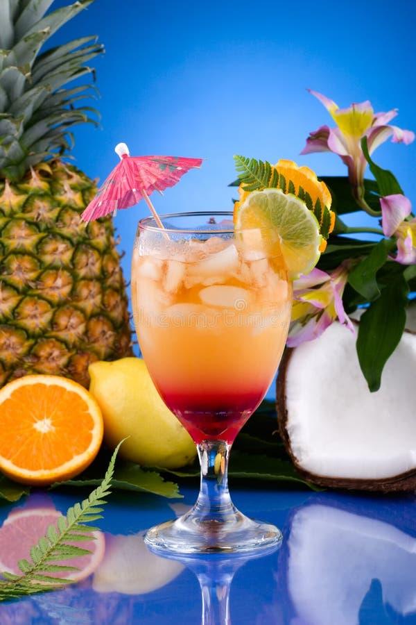 La maggior parte della serie popolare dei cocktail - MAI Tai immagini stock libere da diritti