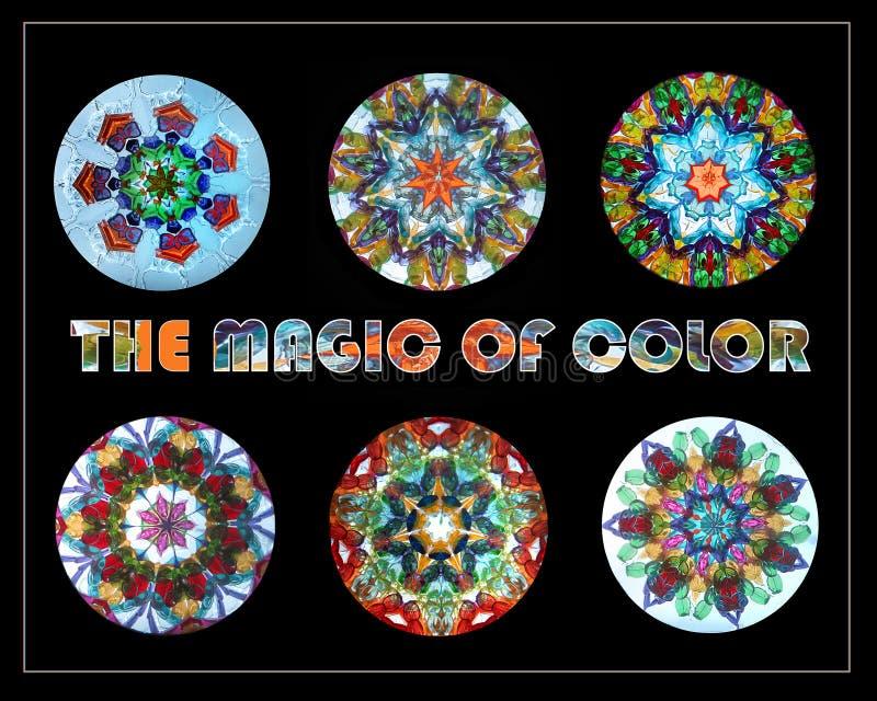La magie de couleur image libre de droits