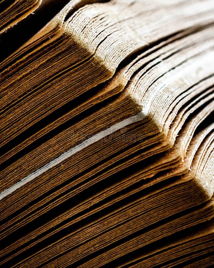 La magie de vieux livres photographie stock