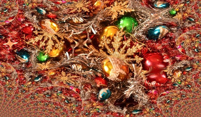 La magie des fêtes de Noël image stock