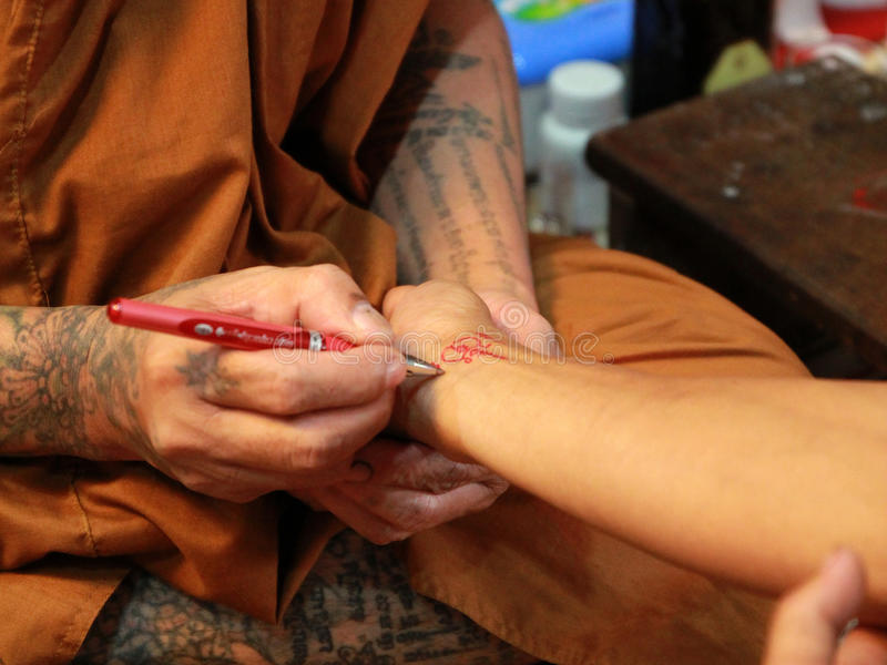 La magie du tatouage images stock