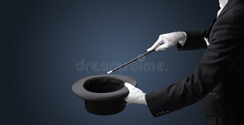 La main d'illusionniste veulent que s crée quelque chose photos libres de droits