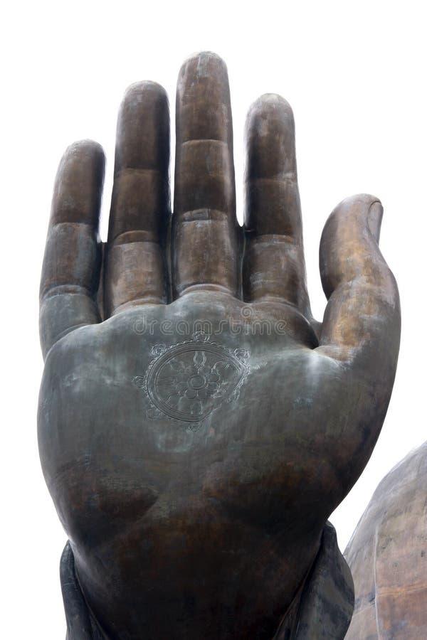 La main de Bouddha images stock