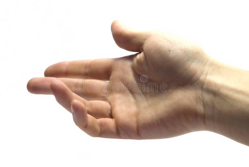 La main de l'ami images libres de droits