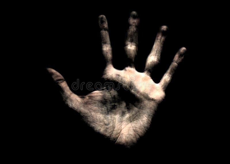 La main de l'homme photographie stock libre de droits