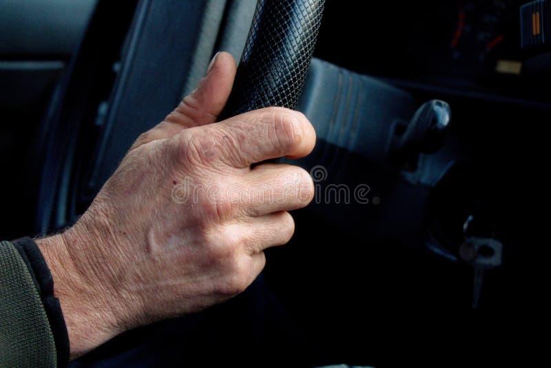 La main du gestionnaire photos stock
