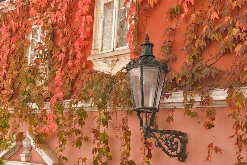 La Maison à Prague. Images libres de droits