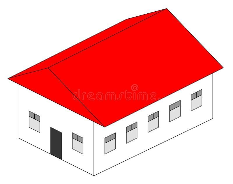 La maison illustration libre de droits