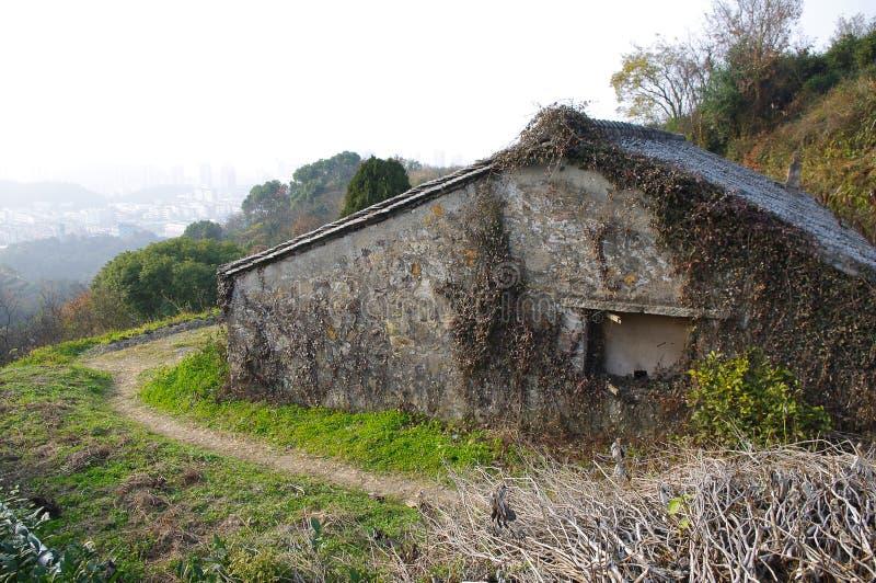 La maison abandonnée photographie stock libre de droits