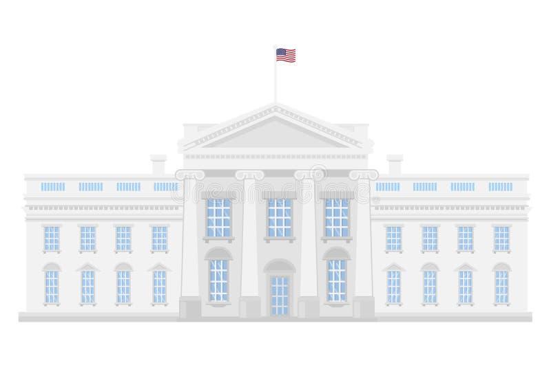 La Maison Blanche illustration libre de droits