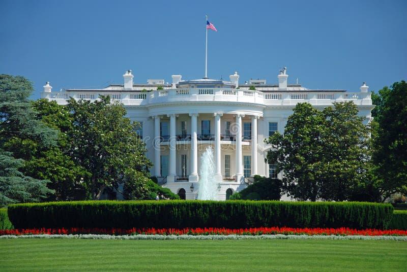 La Maison Blanche dans le Washington DC images libres de droits