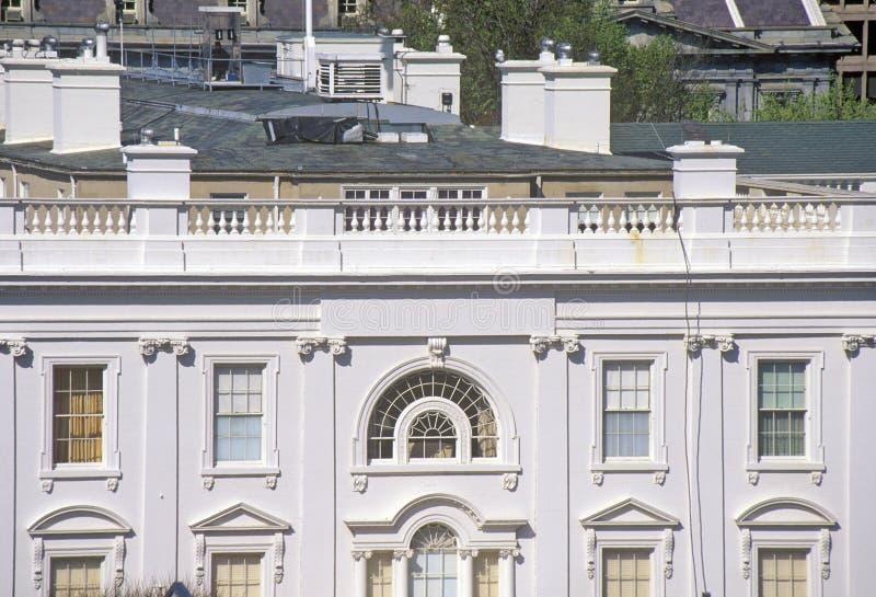 La Maison Blanche, une vue des quarts privés, Washington, C.C image libre de droits