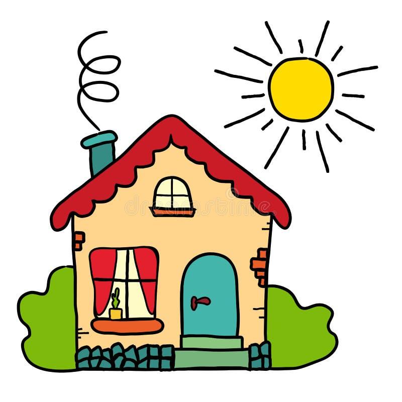 la maison de campagne faite main de dessin le soleil d. Black Bedroom Furniture Sets. Home Design Ideas
