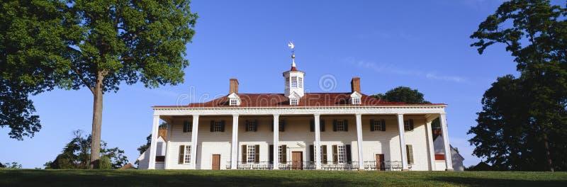 La maison de George Washington image libre de droits