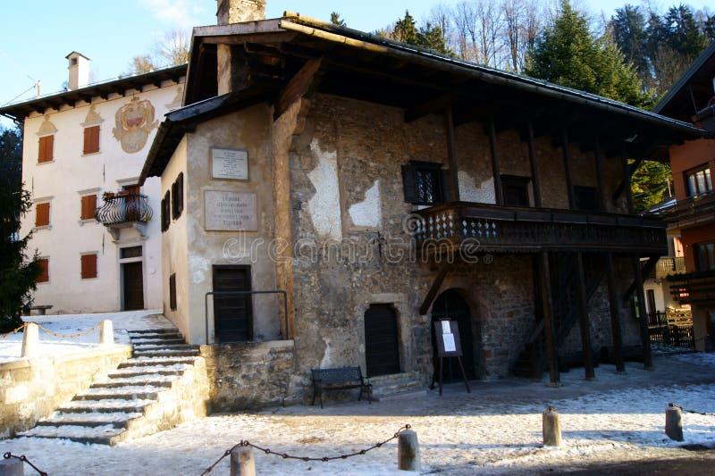 La maison de Vecellio photos stock