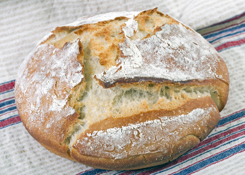 La maison a effectué le pain photo libre de droits