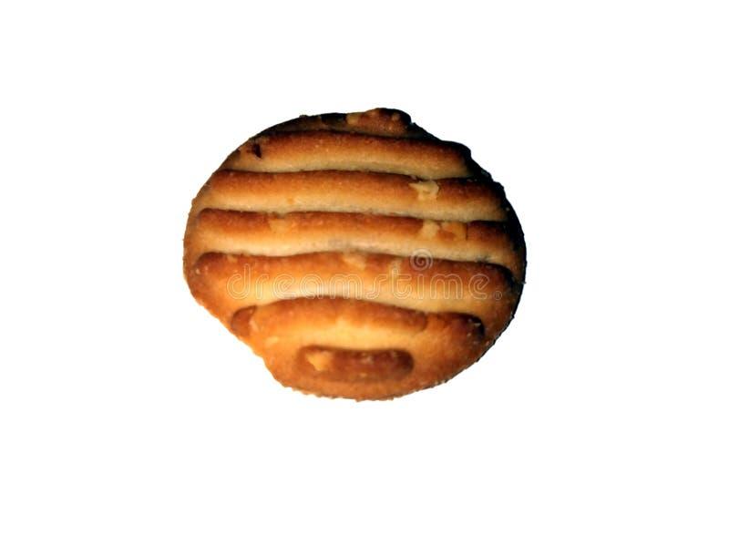 La maison a fait des biscuits d'isolement sur un fond blanc photos stock