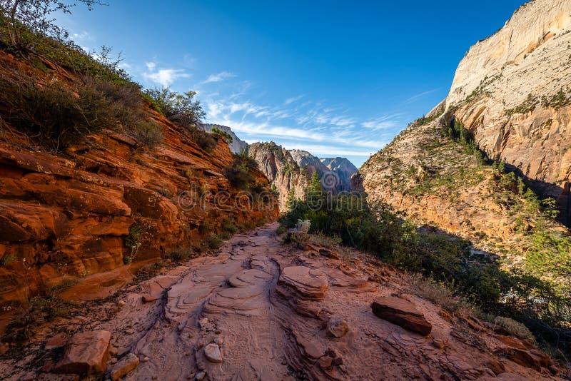 La majesté de Zion National Park image libre de droits