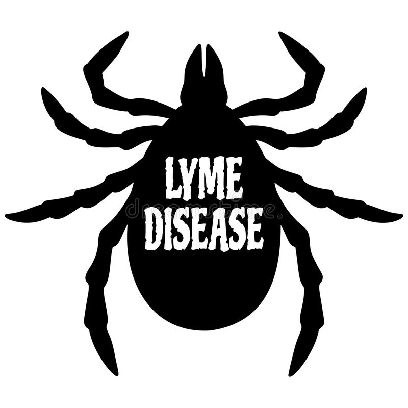 La maladie de Lyme illustration de vecteur