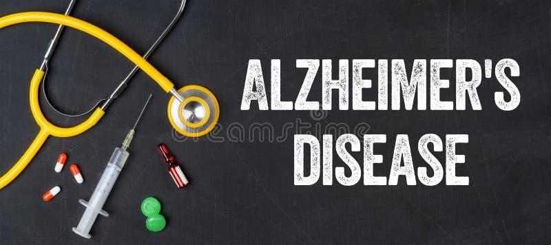 La maladie du ` s d'Alzheimer photographie stock