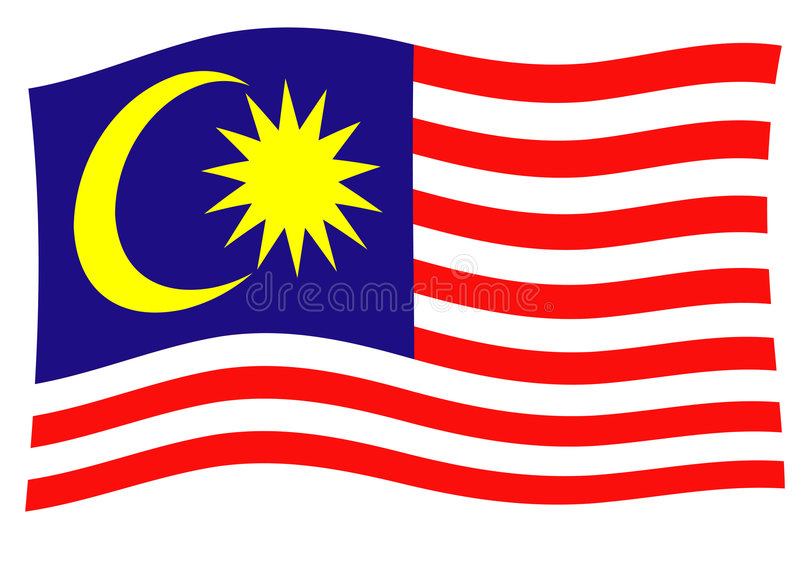 La Malaisie illustration stock