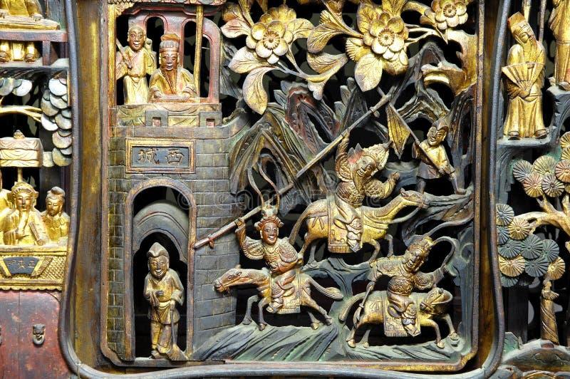 La Malaisie, Penang : Temple chinois image libre de droits