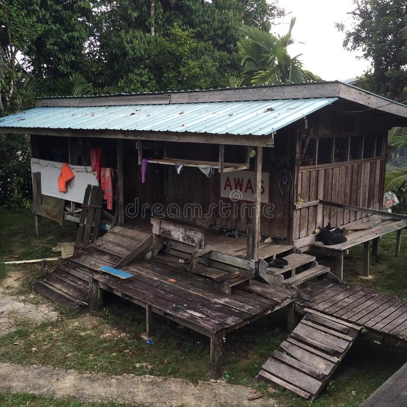 La Malaisie, Sarawak images libres de droits