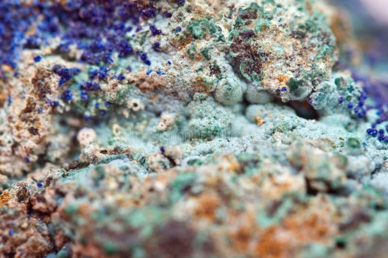 La malaquita es un mineral de cobre del hidróxido del carbonato fotos de archivo libres de regalías