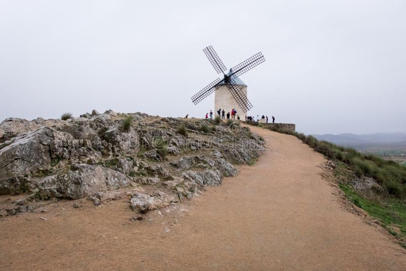 La Mancha royaltyfria foton