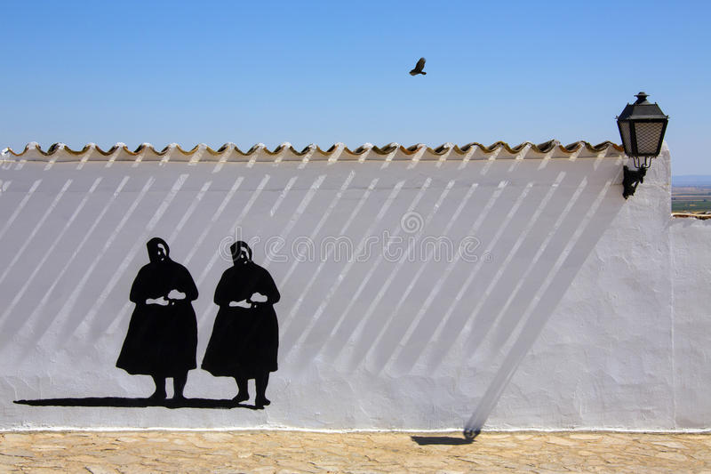 Download La Mancha - Spain stock photo. Image of shadows, outline - 26944750