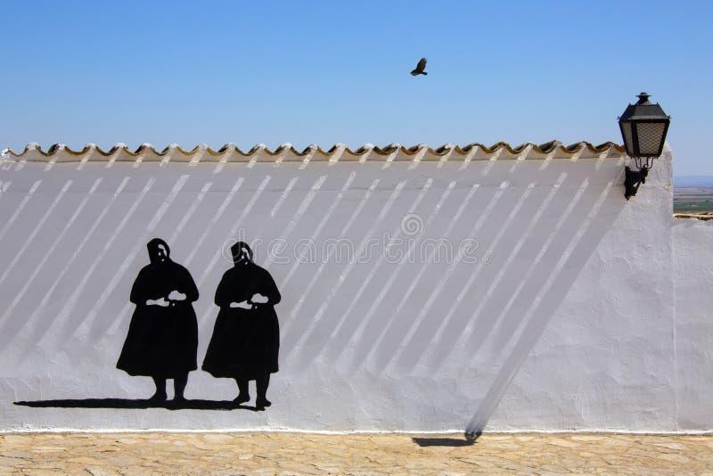 La Mancha - Spanien Arkivfoto