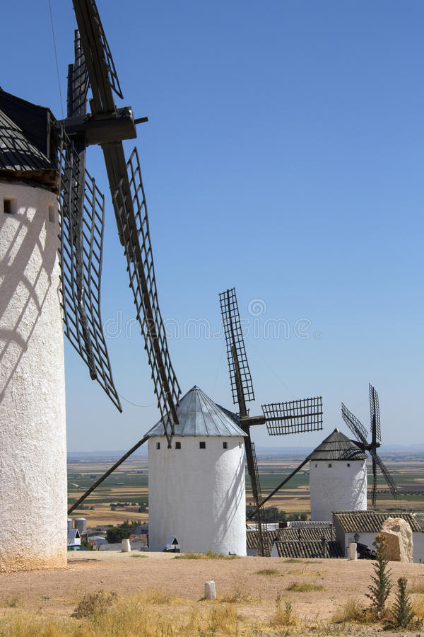 Download La Mancha Windmills - Spain Stock Photo - Image: 27011946