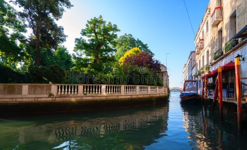 La Manche à Venise photo libre de droits